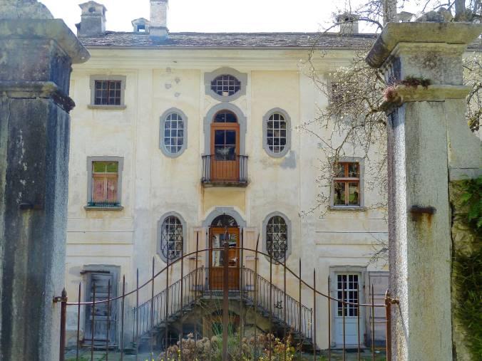 Wie ein Märchenschloss: die Rückseite der Casa Antonio (privat, nicht zugänglich)