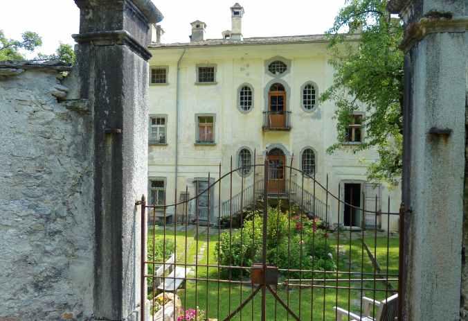 Garten der Casa Antonio in Soglio