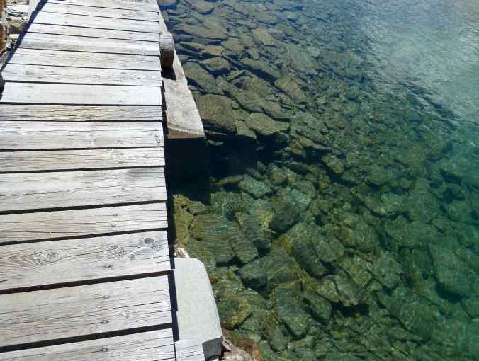 Lunghinsee Holzbrücke