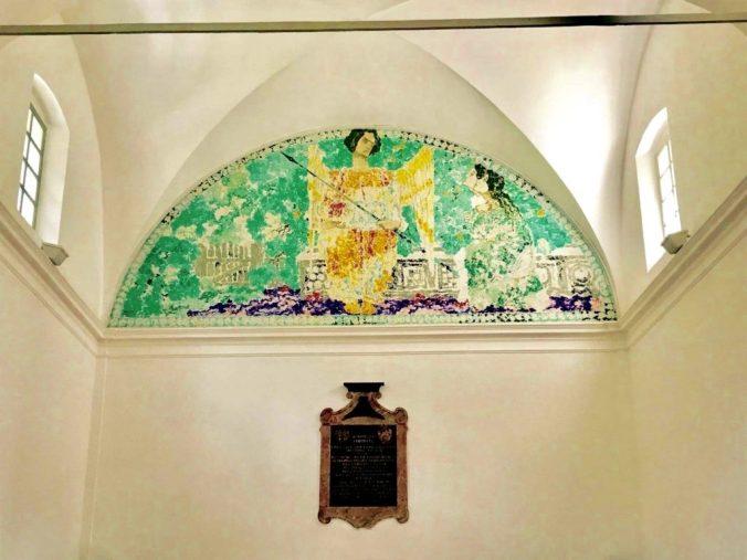 Augusto Giacometti, «Am Morgen der Auferstehung», Kirche San Pietro in Stampa