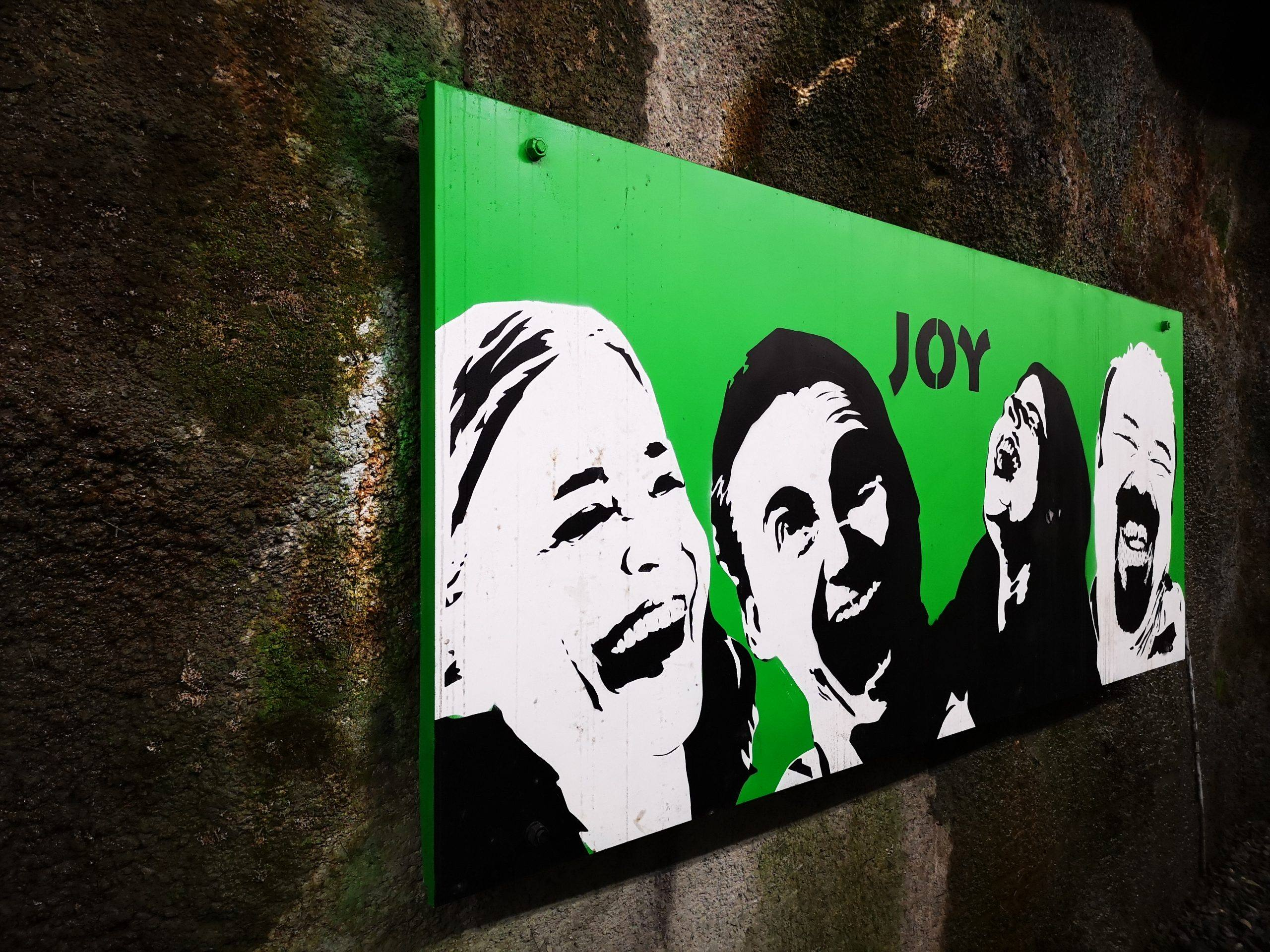 Big Laugh Joy green