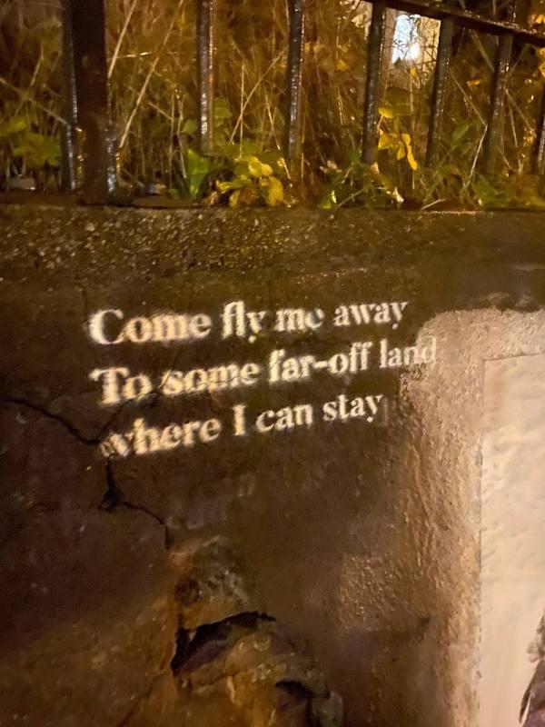 Fly me away tekst