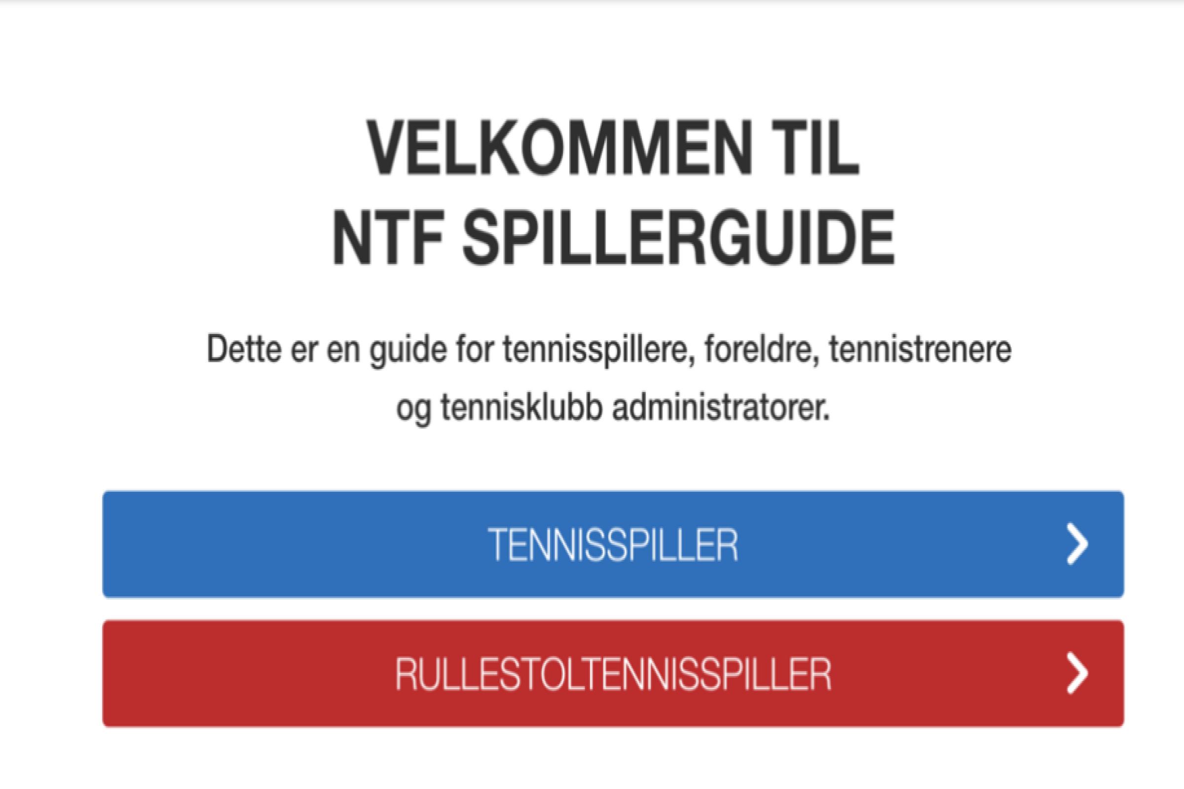NTF Spillerguiden