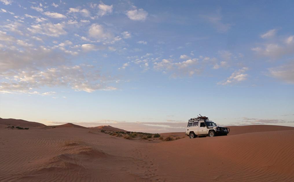 Endlich in der Wüste