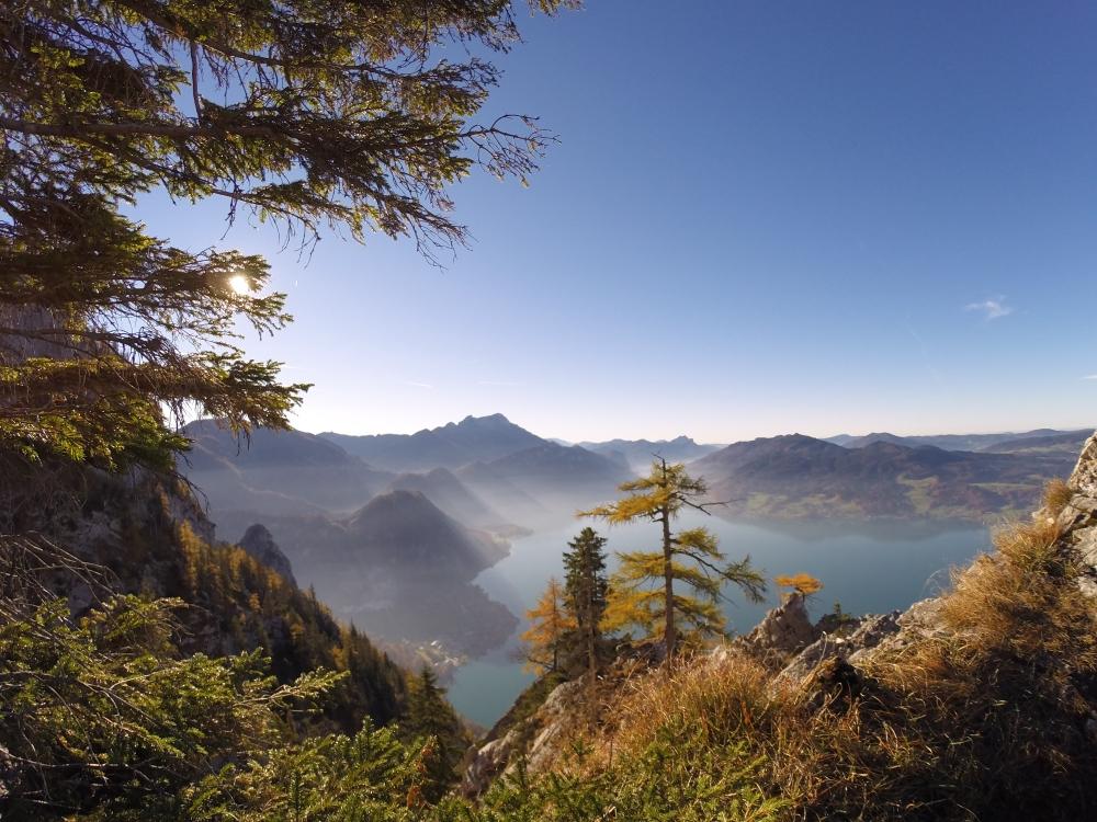 Klettersteig Attersee : Dr martina rauscher mahdlgupf klettersteig am attersee