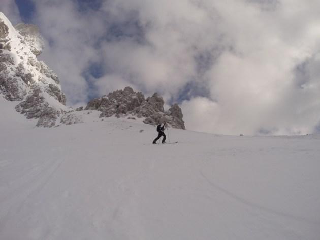 Der letzte Anstieg vor dem Gipfel.