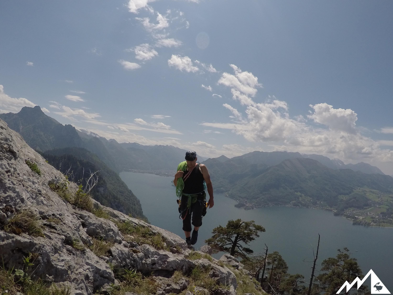 Kletterausrüstung Verstauen : Traunstein: alpinklettern deluxe u2013 berghasen.com