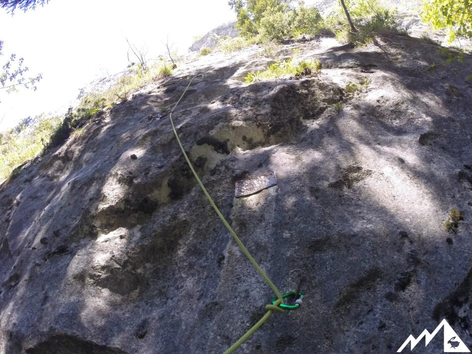 Klettern Ewige Wand Bad Goisern