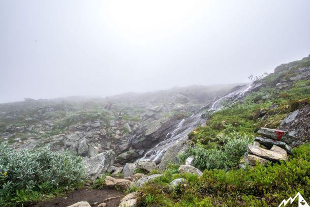 Viel Wasser und noch mehr Nebel.