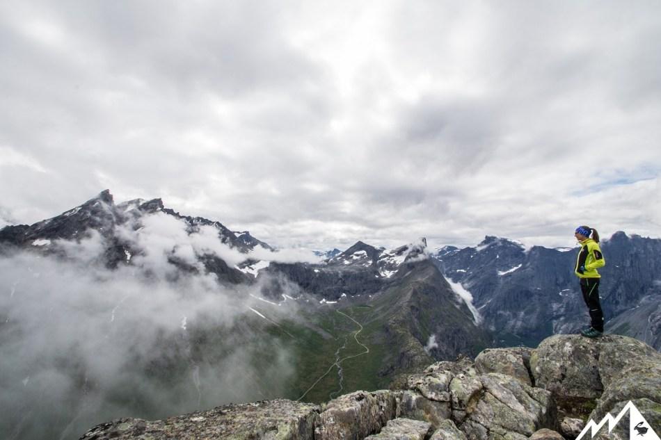 Romsdalseggen Bergtour Norwegen