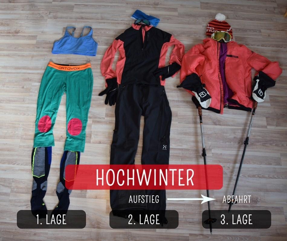Packliste Skitour