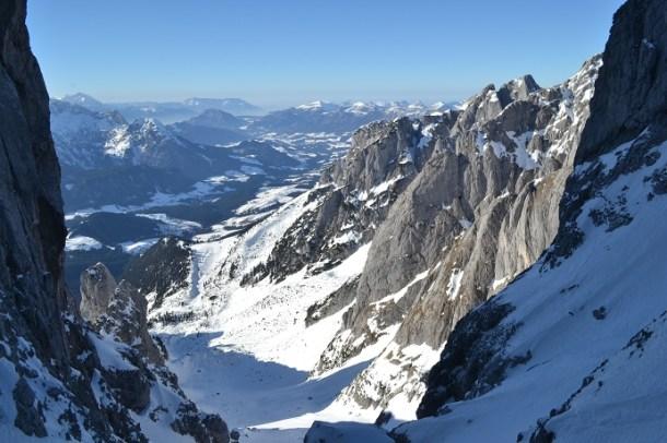 Stuhllochscharte skitour im schatten der bischofsmütze