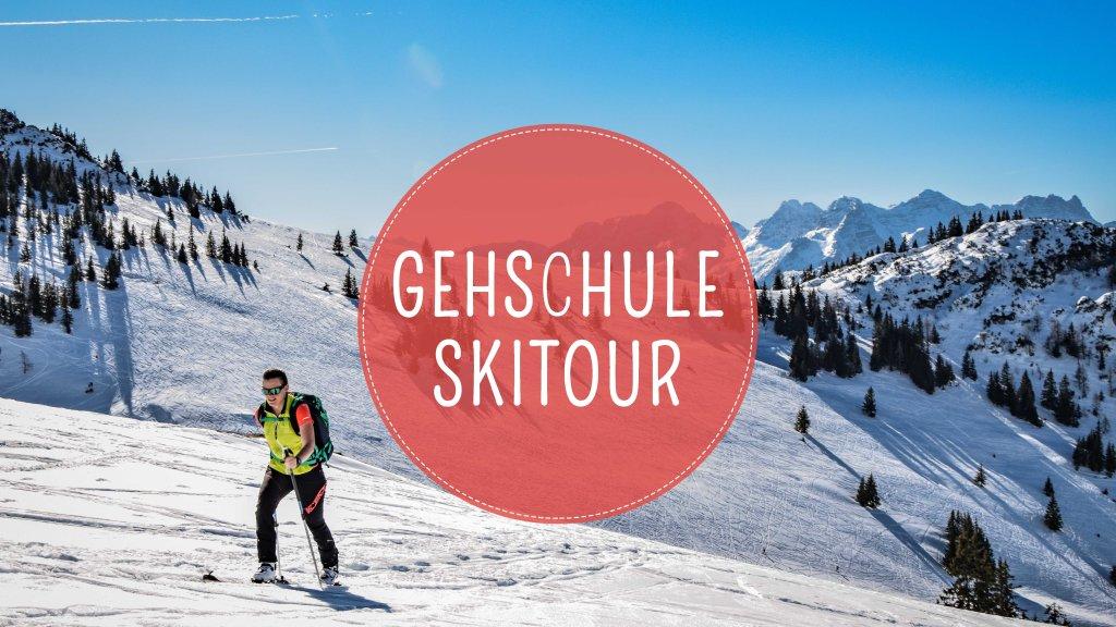 Skitour Gehtechnik