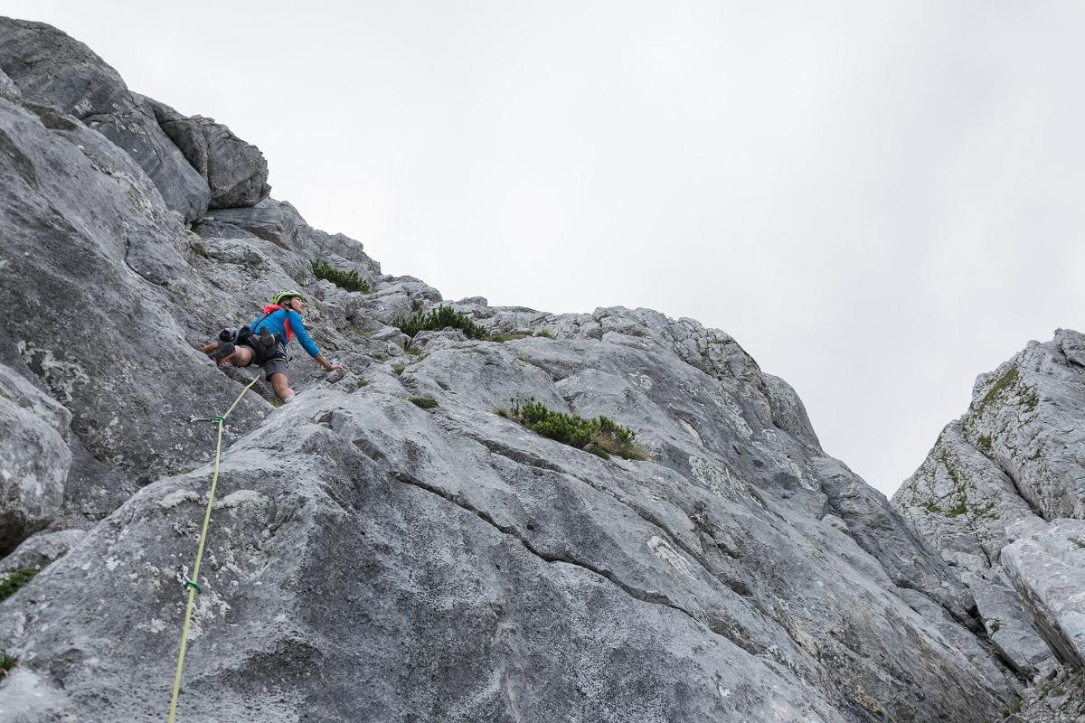 Klettersteig Buchstein : Großer buchstein klettern und gaumenfreuden u berghasen