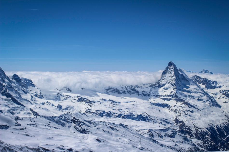 Rimpfischhorn Hochtour Britanniahütte