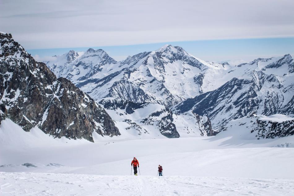 Strahlhorn Skitour