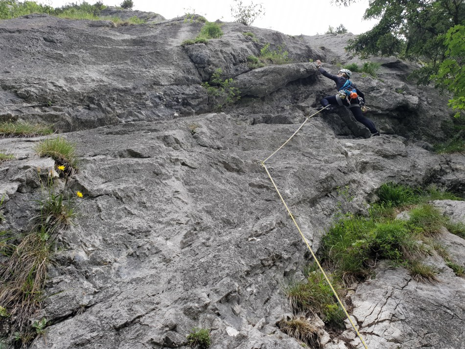 Klettern Lofer Weißbach