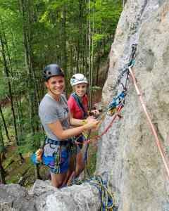 Alpinkletterkurs bei den Rockdays