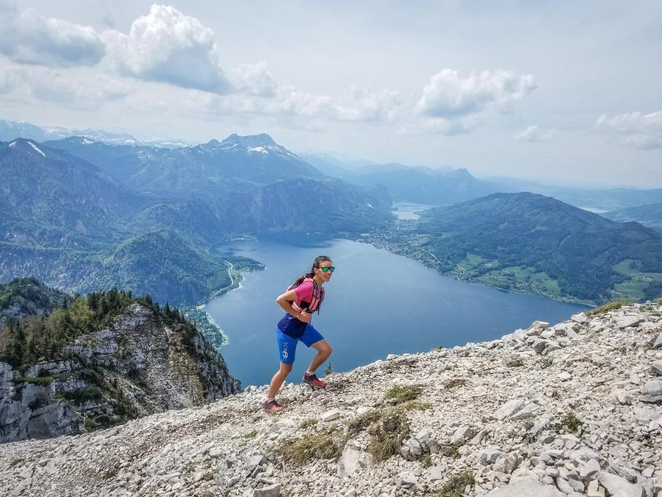 Wandern Attersee Dachsteinblick