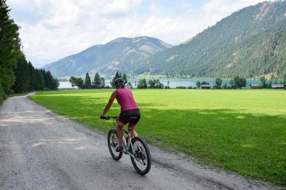 Mountainbike Weissensee