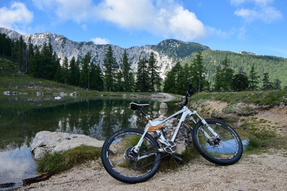 Mountainbike Klopeiner See