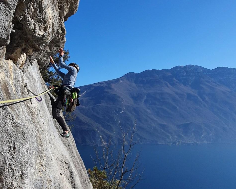 Fiori di Primavera Klettern Gardasee Regina del Lago