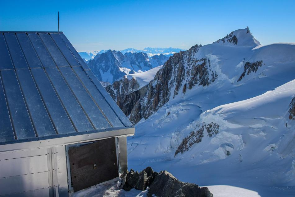 Mont Blanc Überschreitung italienischer Normalweg Papstweg