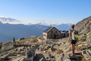 Nadelgrat Bordierhütte Galenjoch