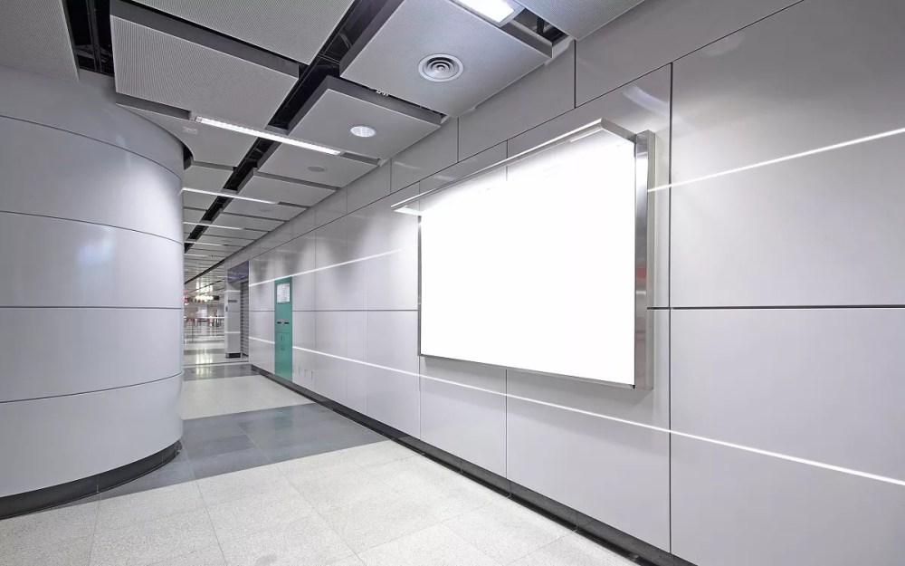 fugi LED korytarz