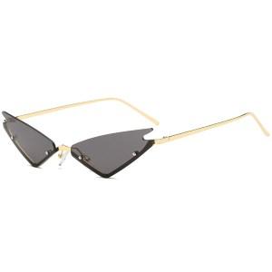Woman sunglasses fashion cat eyes UV protection