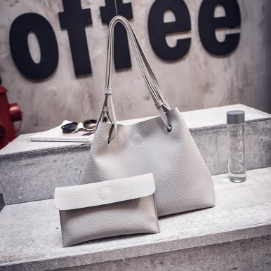 Woman Shoulder Tote Bag Two-Piece Crossbody fashion bag office leisure