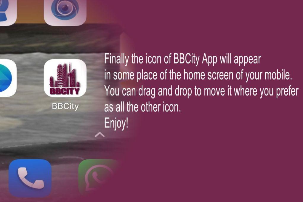 App installation BBCity