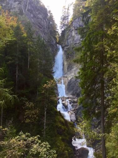 Der erste große Martuljek Wasserfall