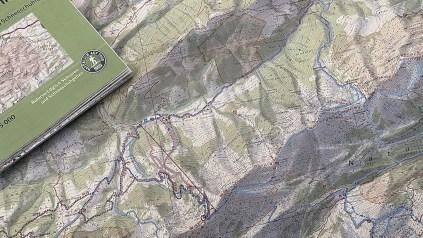 Alpenvereinskarten zur Skitourenplanung
