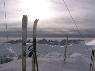 Richtung Sextner Dolomiten