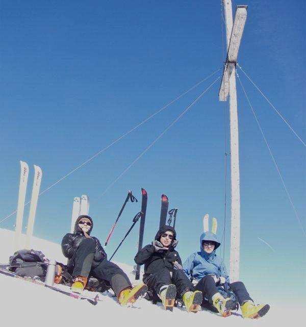 Karspitz in Schalders (2517m)