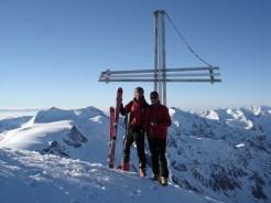 Königsspitze Gipfelkreuz