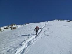 Der Gipfelhang