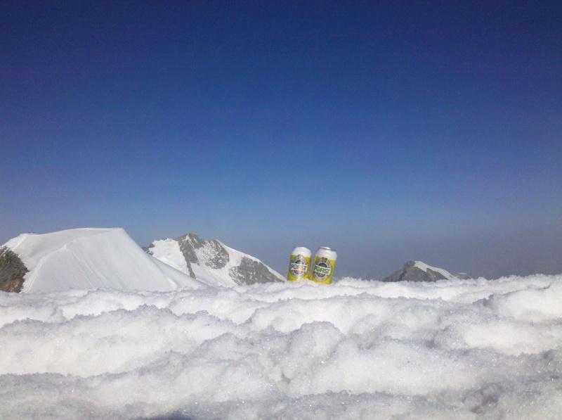 Piz Argient (3945m), Piz Palü (3900m)