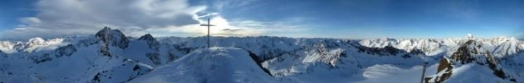 Atemberaubendes Panorama