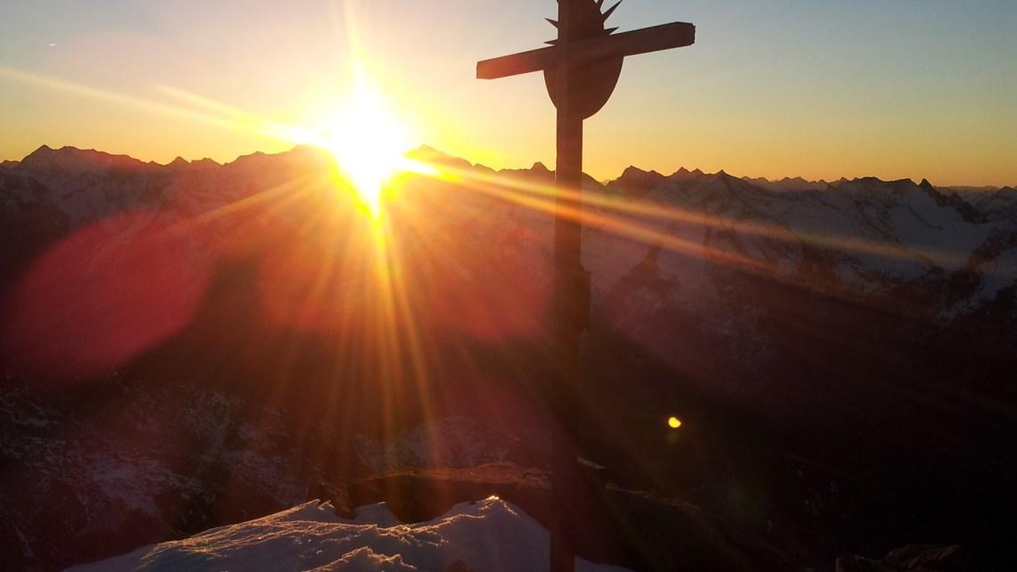 Sunnaufgong Napfspitze (3144mt)