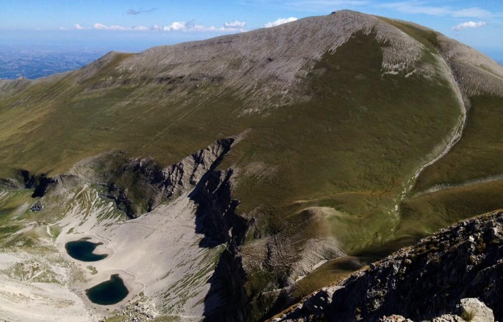 Monte Vettore 2476m, Cima Del Redentore 2448m