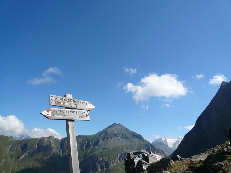 Wilde Kreuzspitze (3135m) von Pfitsch