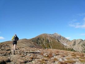 Der Kamm zum Gipfel