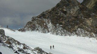 Überquerung Gletscherkees