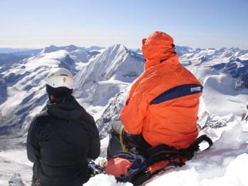 Königsspitze als Kulisse