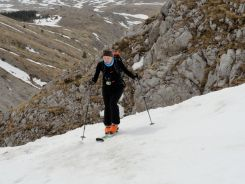 Aufstieg Monte Camicia
