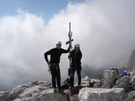 Rene und Christine am Gipfel