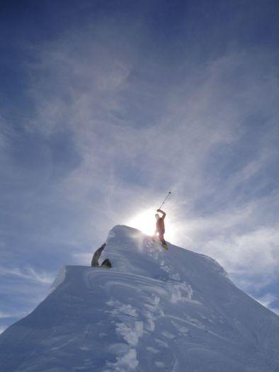 Der heilige Geist am Gipfel