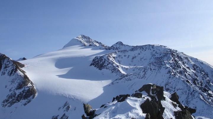 Similaun (3606m) über Hohe Wart